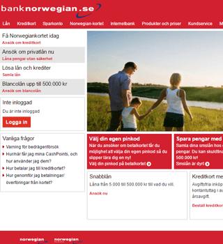 Tänka vill bank norwegian omdöme sms-lån